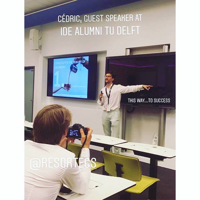 Cédric shares the key learnings he learned the hard way since he left the TU Delft and launched Resortecs - June 2018 - Delft.